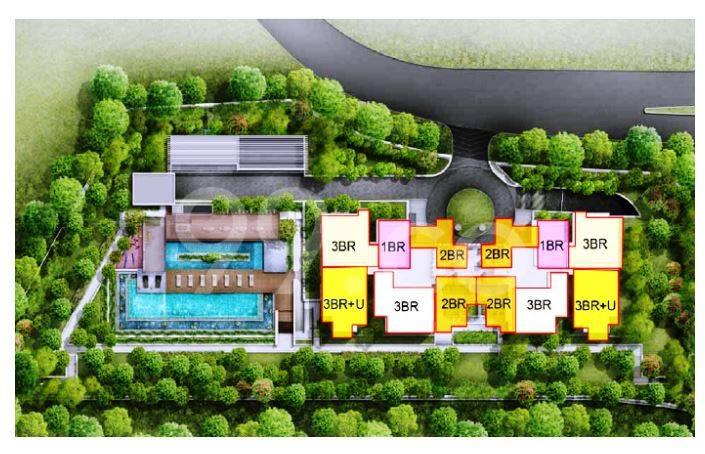 Alex Residences site plan