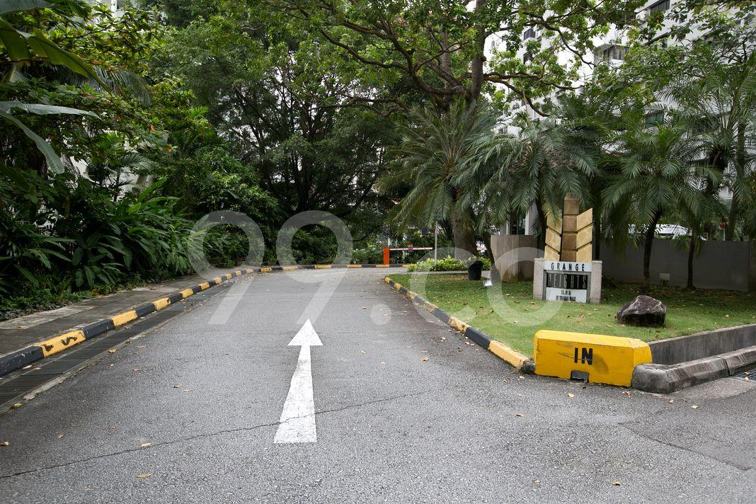 Grange Heights  Entrance