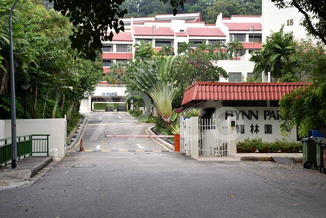Flynn Park Flynn Park - Entrance