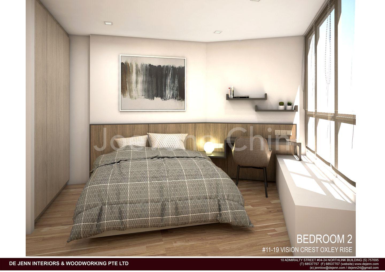 Common Bedroom with Study