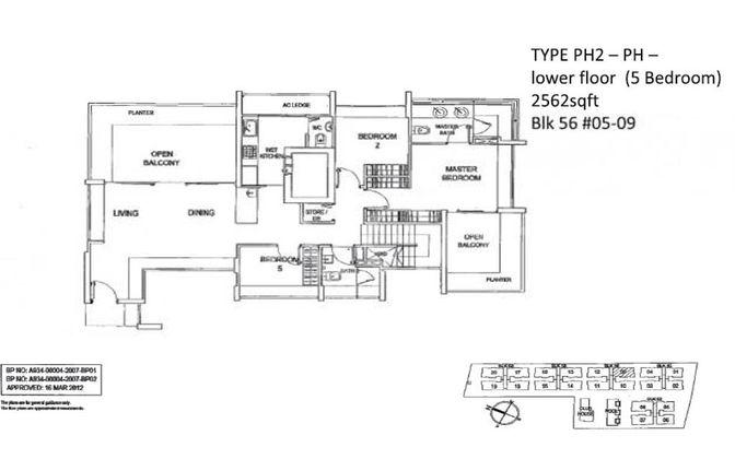 Floor Plan - Lower Plan