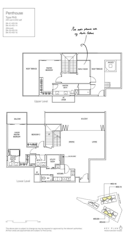 3 + Family Penthouse 2,842 Sqft