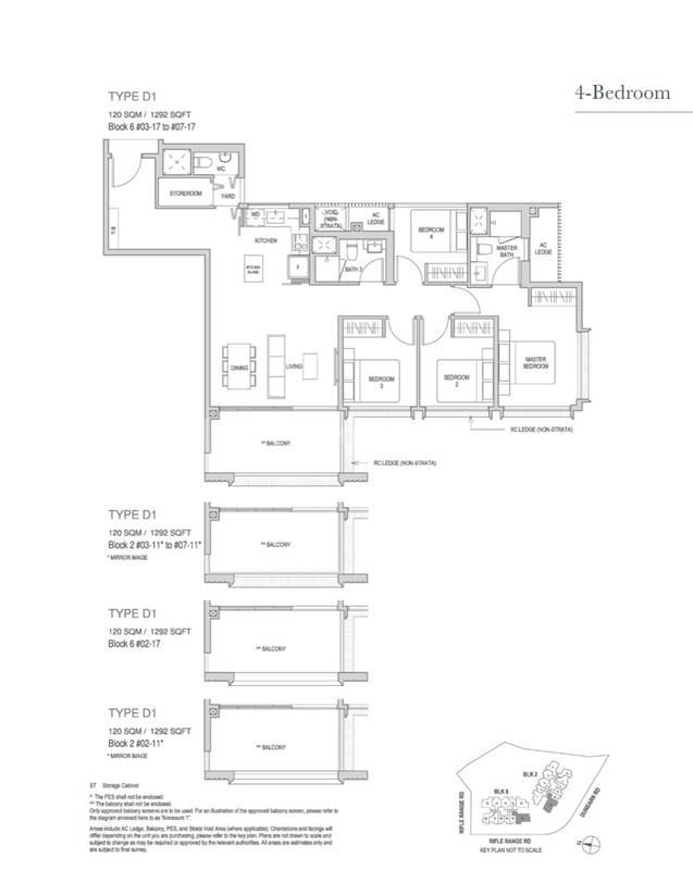 4 Bedroom 1,292 Sqft