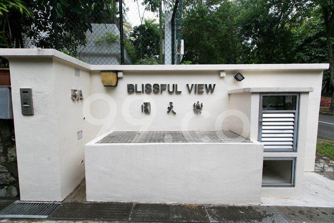Blissful View  Logo
