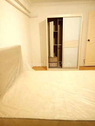 2nd Bedrm Brand New Sliding 2 doors Wardrobe with Mirror.