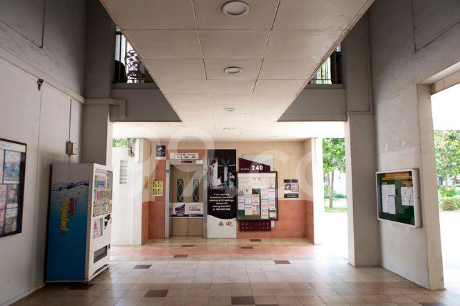 HDB-Jurong East Lift Lobby Jurong East