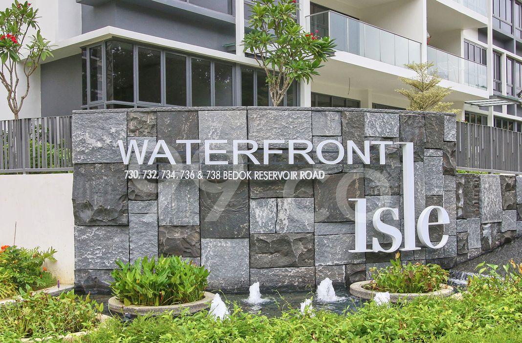 Waterfront Isle  Logo