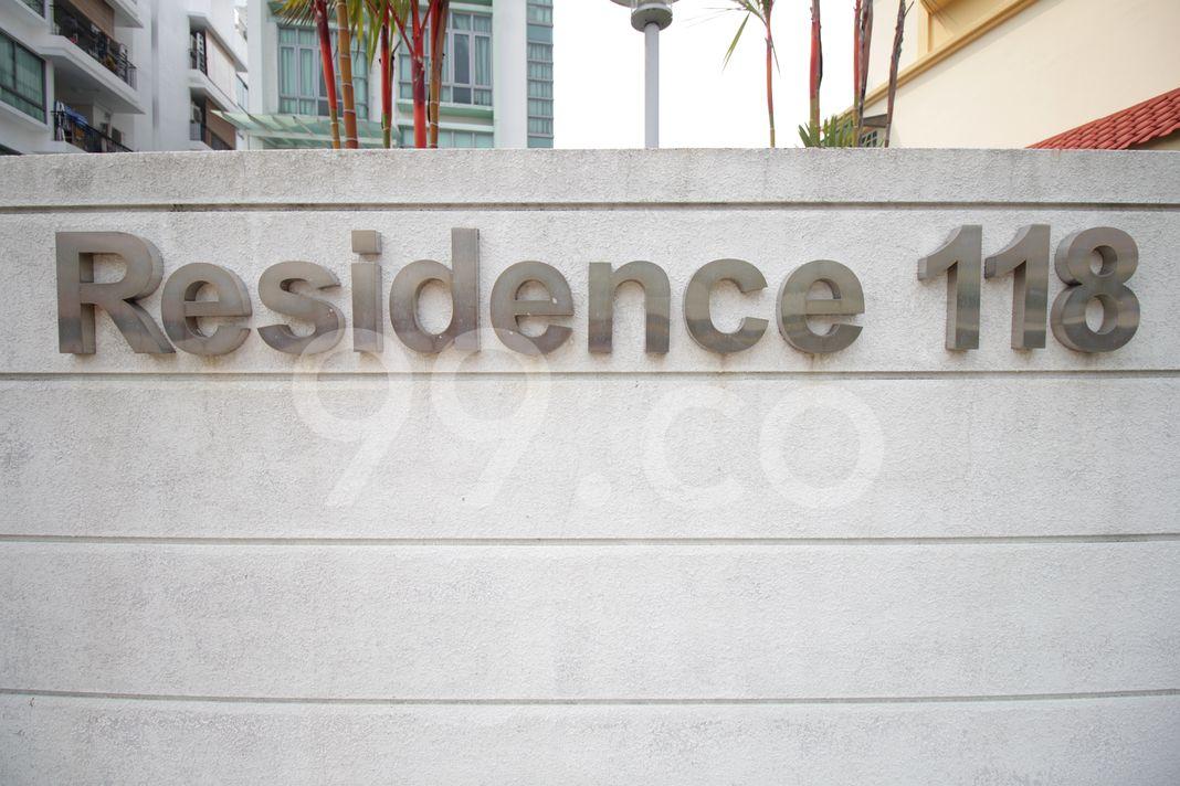 Residence 118  Logo