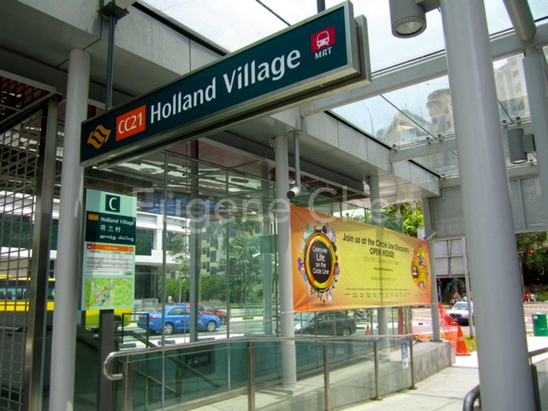 7-8 mins away to Holland Village MRT