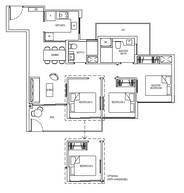 3 Bedrooms Type 3C1dG