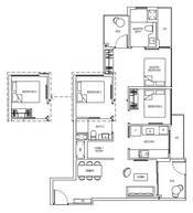 3 Bedrooms Type 3D2aG