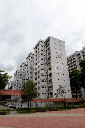 HDB-Jurong East Block 43 Jurong East