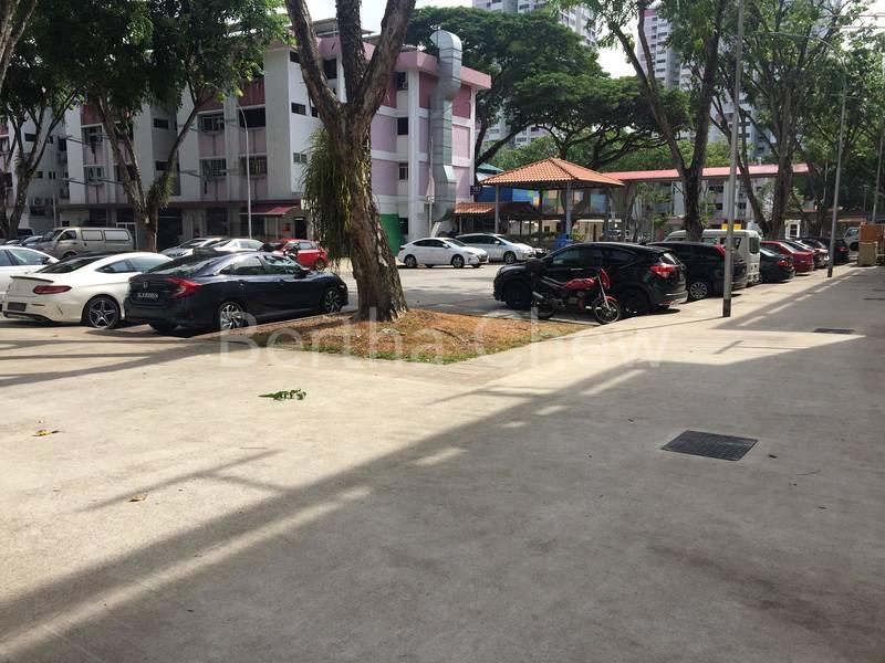 HDB Parking Lots