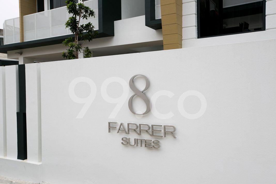8 Farrer Suites  Logo