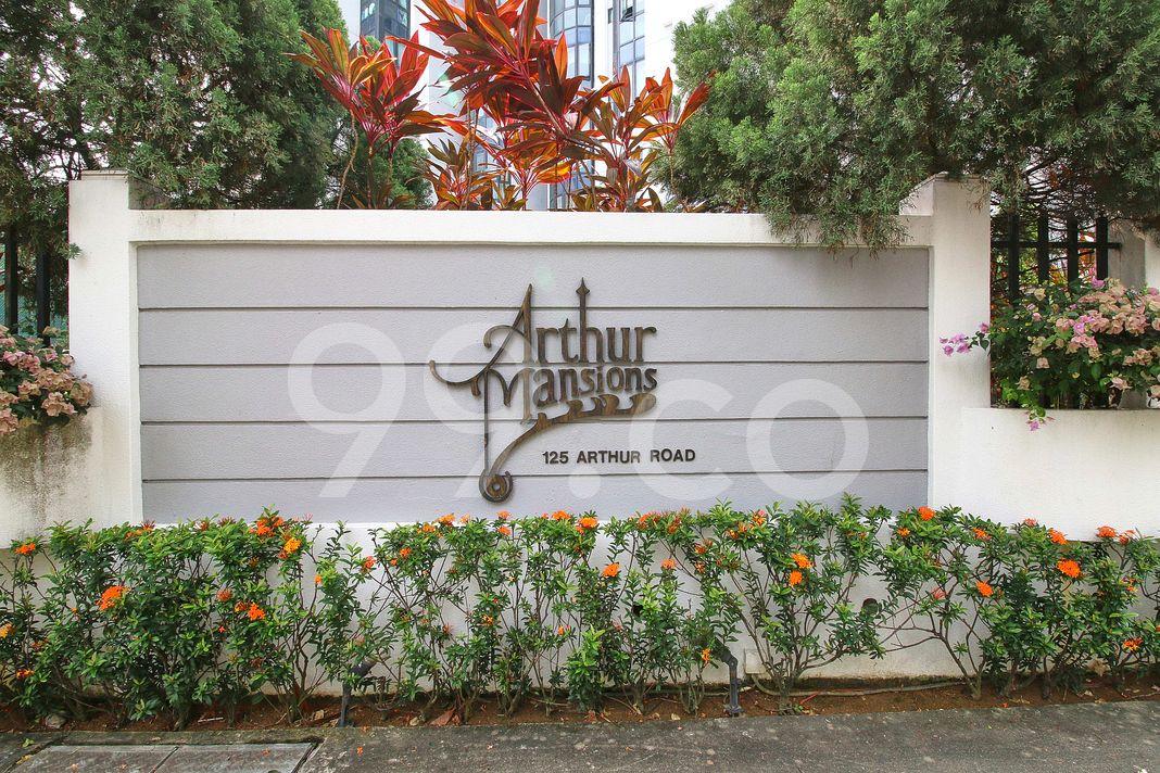 Arthur Mansions  Logo