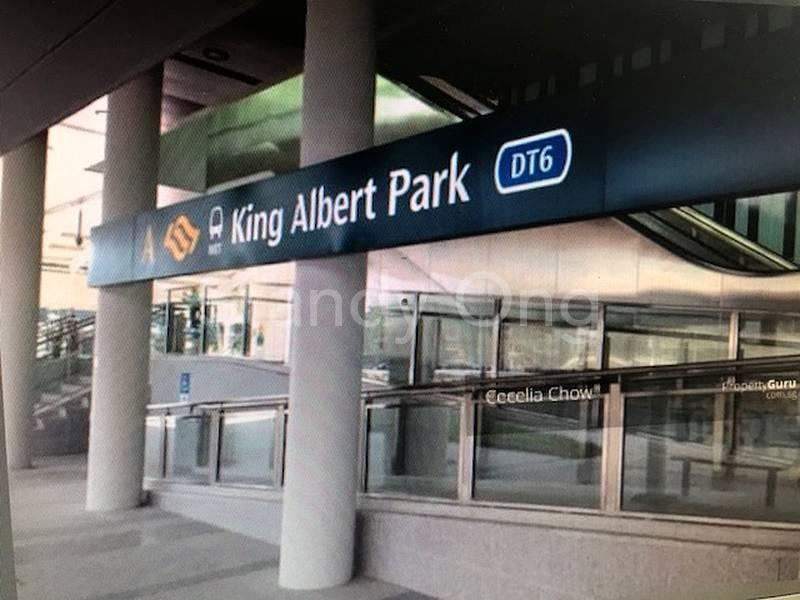 King Albert Park MRT (DT 6)