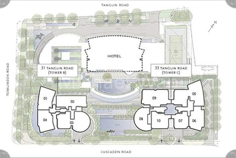St. Regis Residences Site Plan