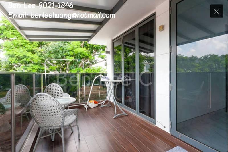 Balcony to relax