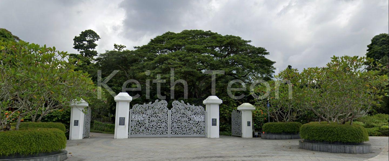 Mins to Botanic Gardens