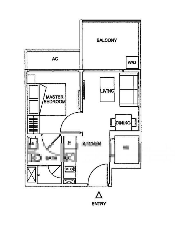 Mirror image of this floor plan