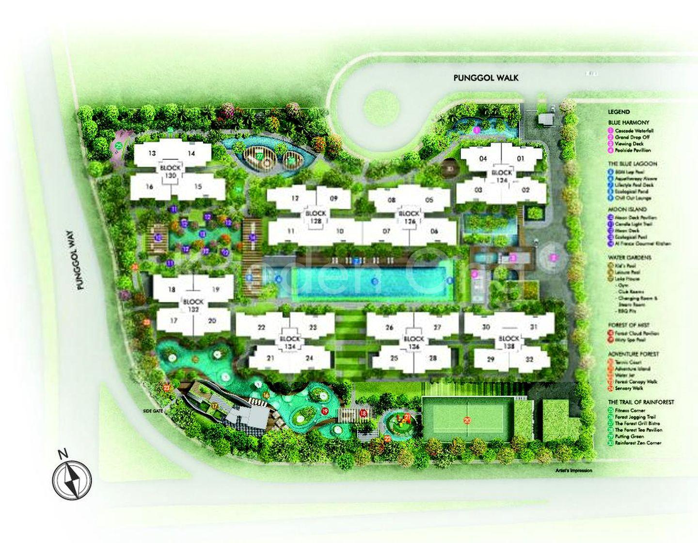 Ecopolitan Site Plan
