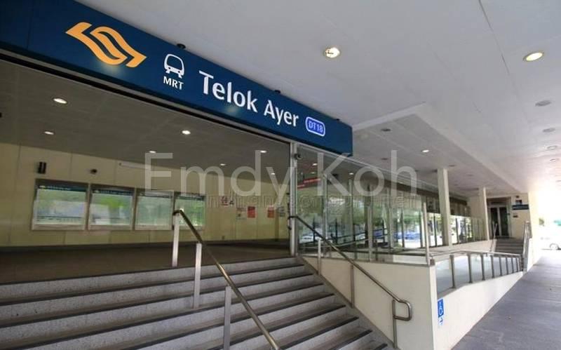 Walking distance to Telok Ayer MRT