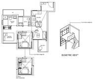 2 Bedrooms Type 2D3aPH