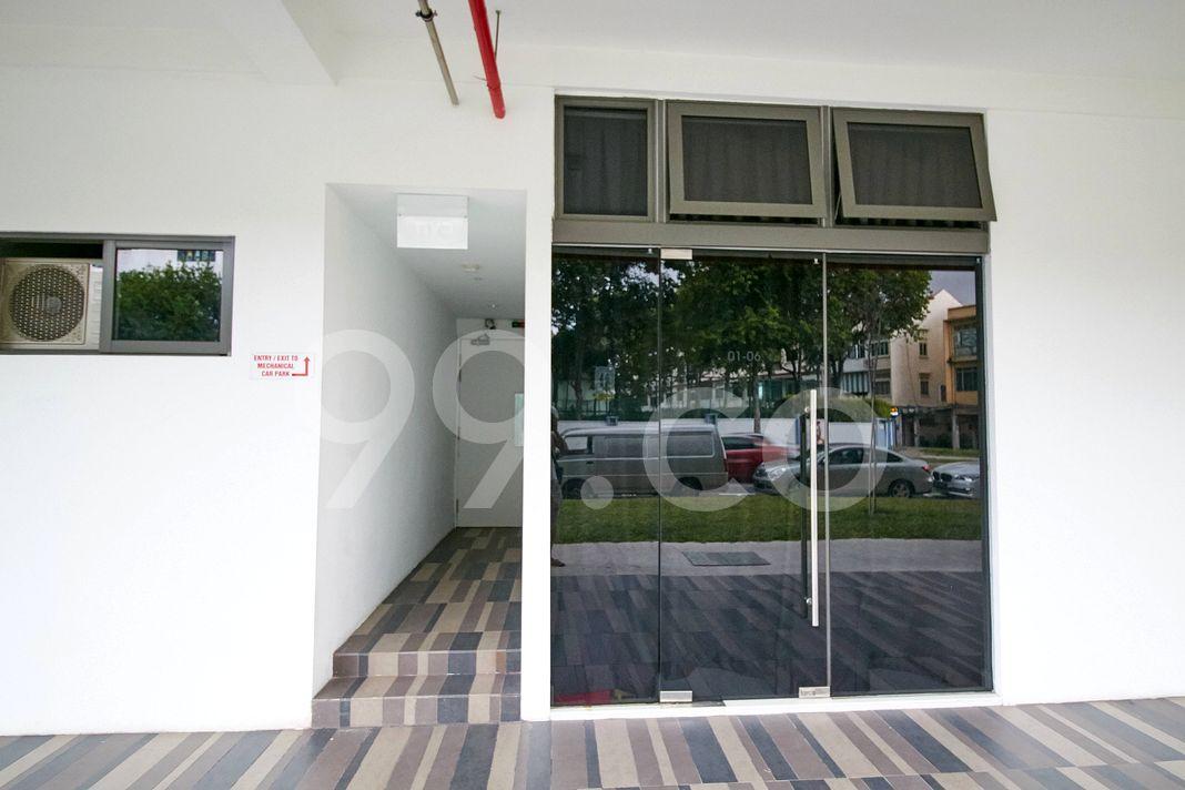 Smart Suites  Entrance