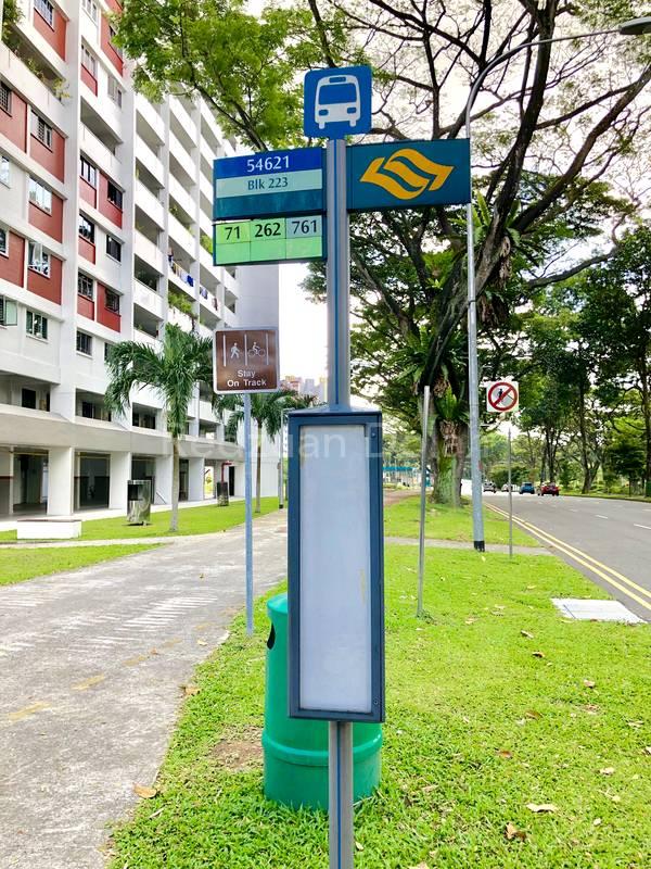 Bus Stop next to 223
