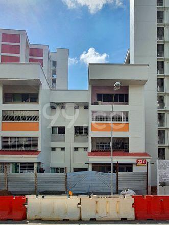 HDB-Hougang Block 338 HDB-Hougang