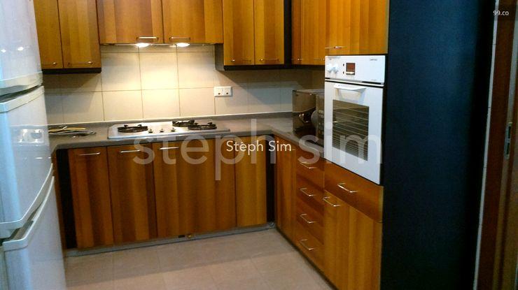 big kitchen w fitted oven,new big fridge