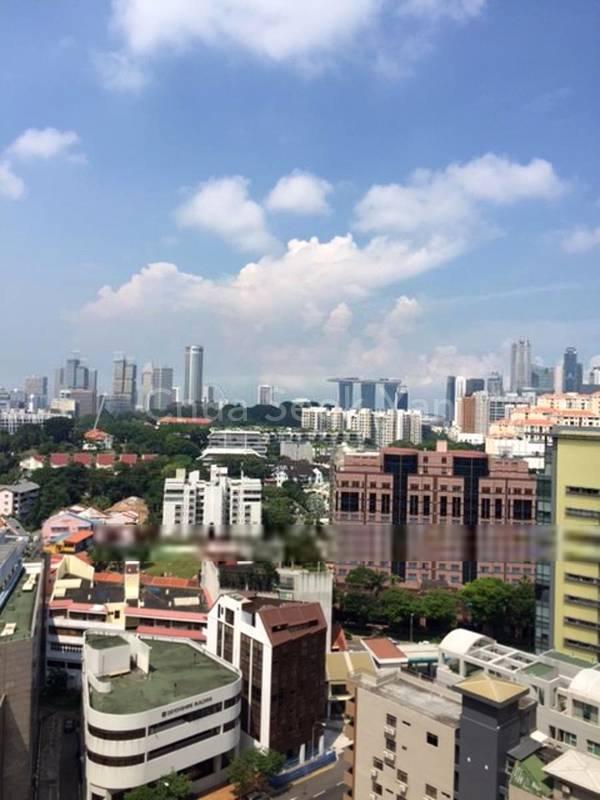 stunning city view