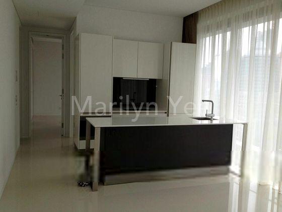 Open-concept kitchen