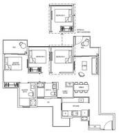 3 Bedrooms Type 3D1G