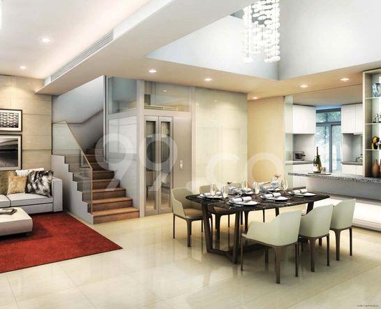 Belgravia Villas Dining Room
