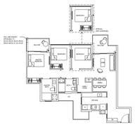 3 Bedrooms Type 3D1