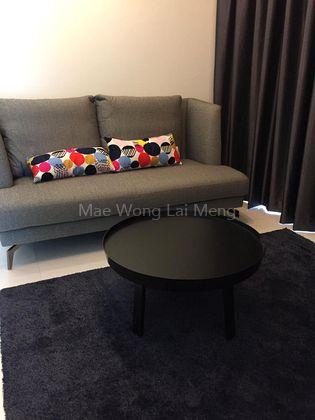 Living hall with sofa