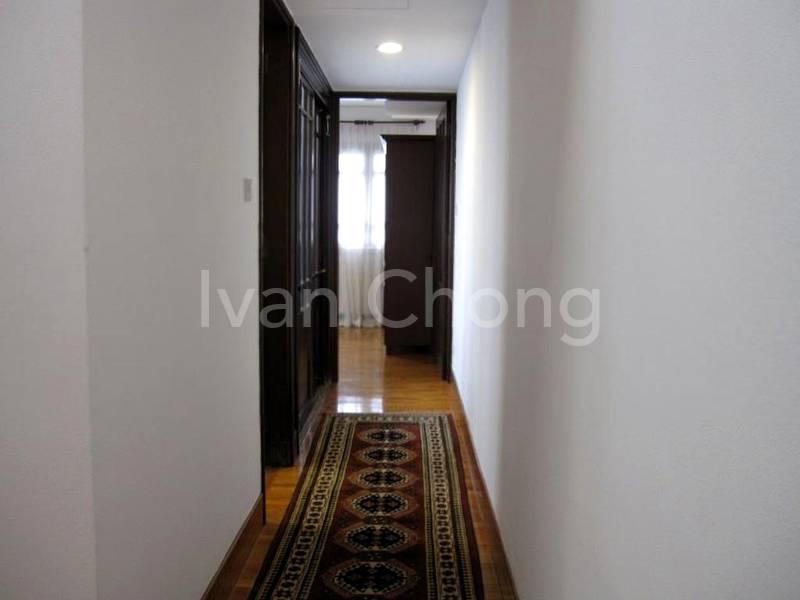 Hall way to bedroom 2
