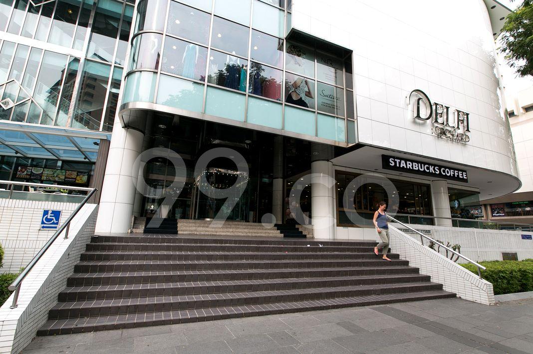 Delfi Orchard  Entrance