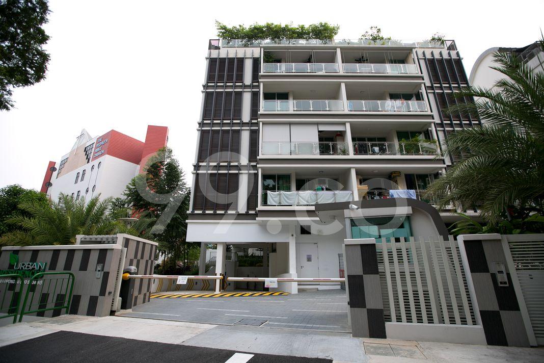 Urban Residences  Entrance