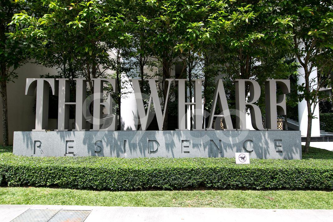 The Wharf Residence  Logo