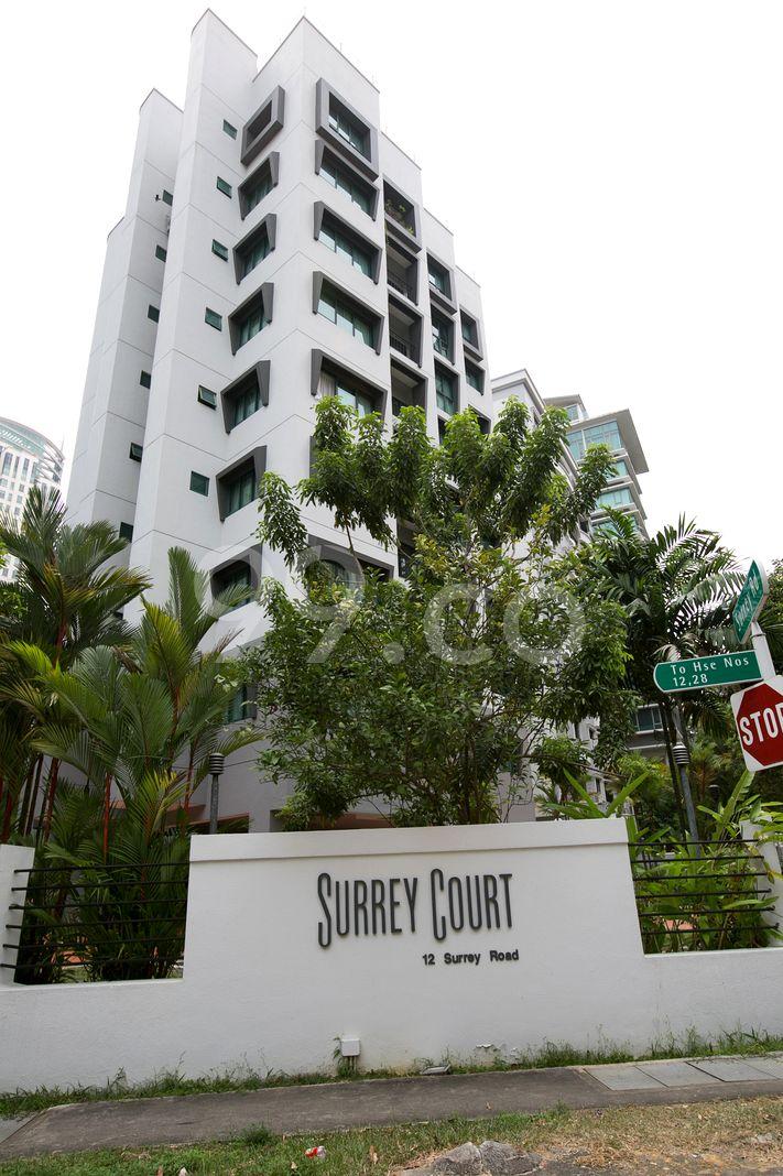 Surrey Court  Elevation