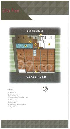 Cavan Suites Site Map