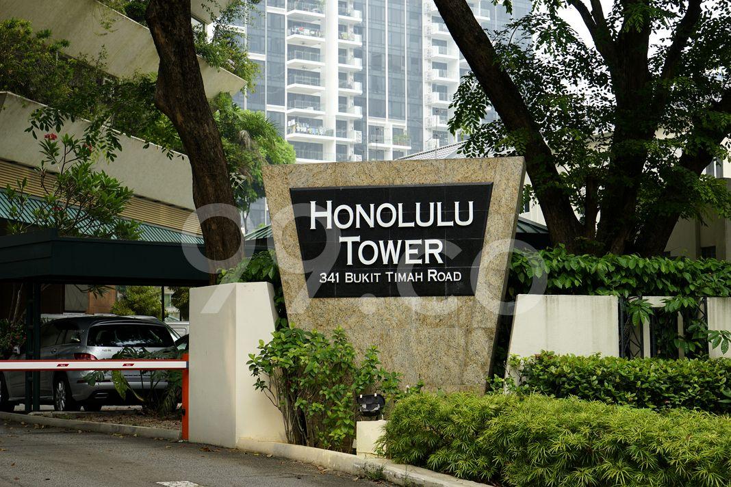 Honolulu Tower  Logo