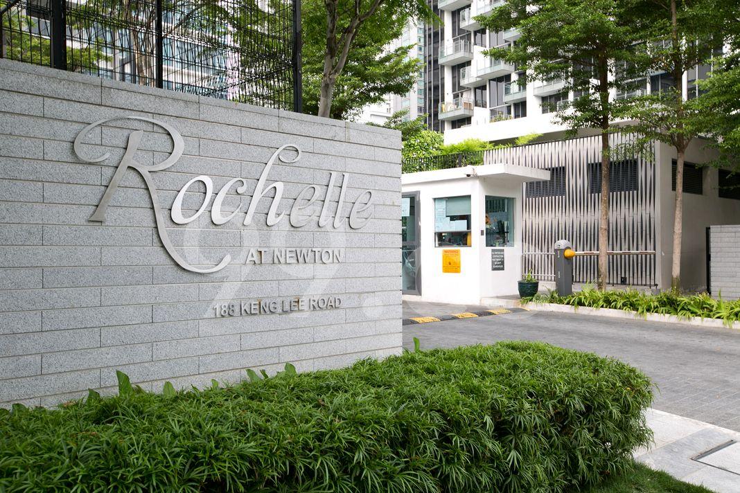 Rochelle At Newton  Entrance