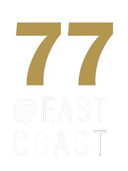 77 @ East Coast logo