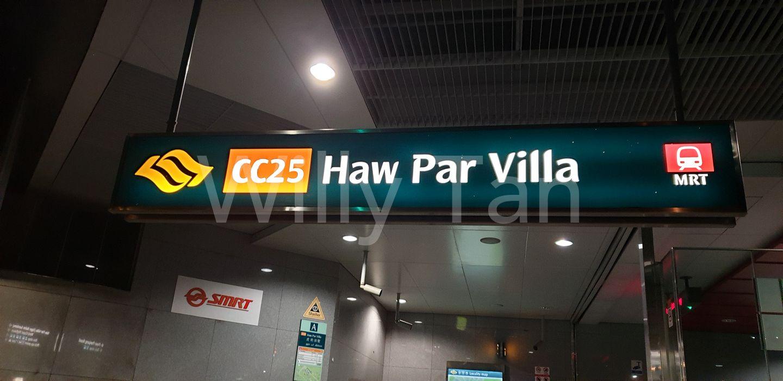Haw Par Villa MRT