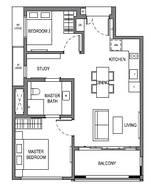 2 Bedrooms Type B11
