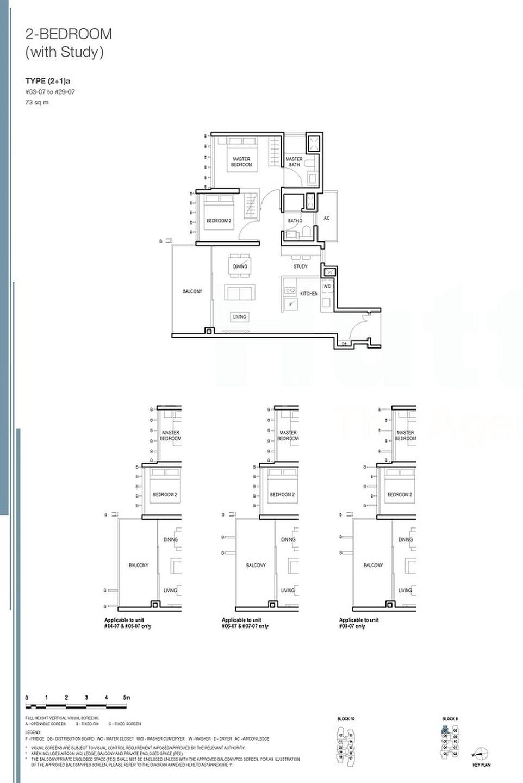2+S floor plan