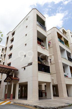 HDB-Jurong East Block 337 Jurong East